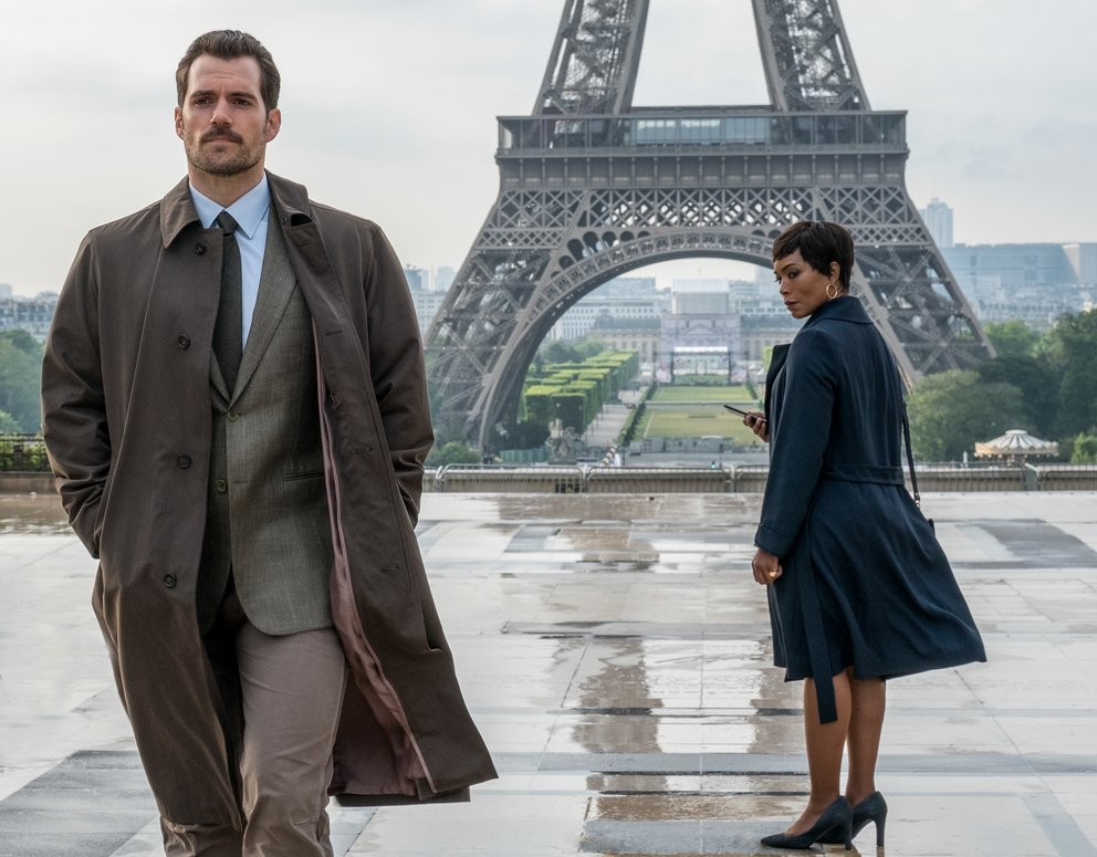 "Henry Cavill und Angela Bassett in ""Mission: Impossible 6 - Fallout"" © Paramount Pictures und Skydance."