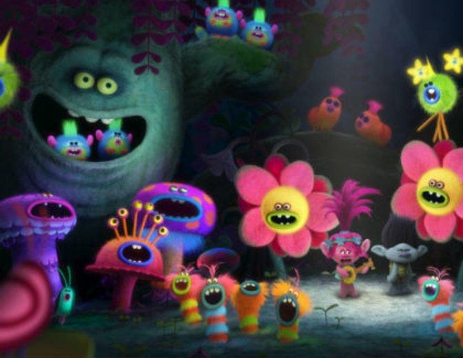 pflanzen singen und tanzen in Trolls