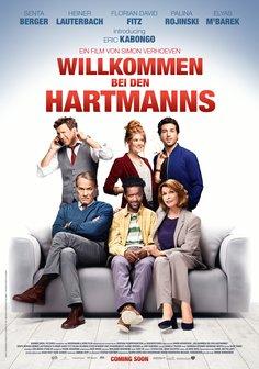 Plakat: Willkommen bei den Hartmanns