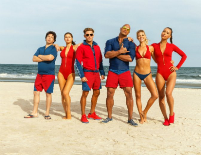 Baywatch Film 2017 Dwayne Johnson