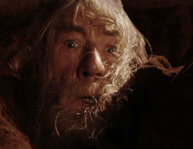 Gandalf Moria Der Herr der Ringe Balrog