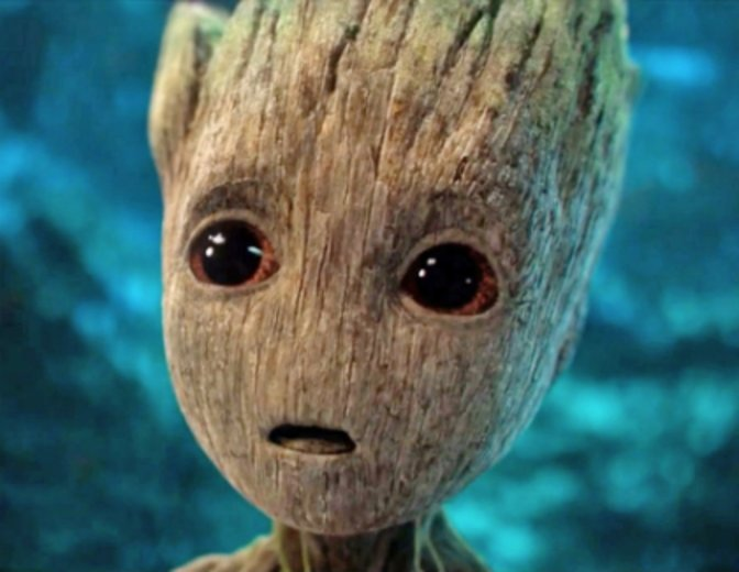 Guardians of the Galaxy 2 Baby-Groot Vin Diesel