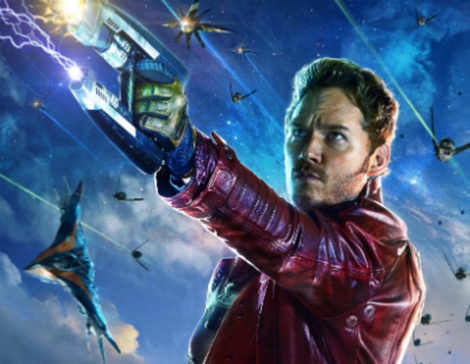 Guardians of the Galaxy Chris Pratt Peter Quill Star-Lord