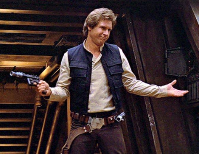 Han Solo Harrison Ford Rückkehr der Jedi-Ritter Star Wars