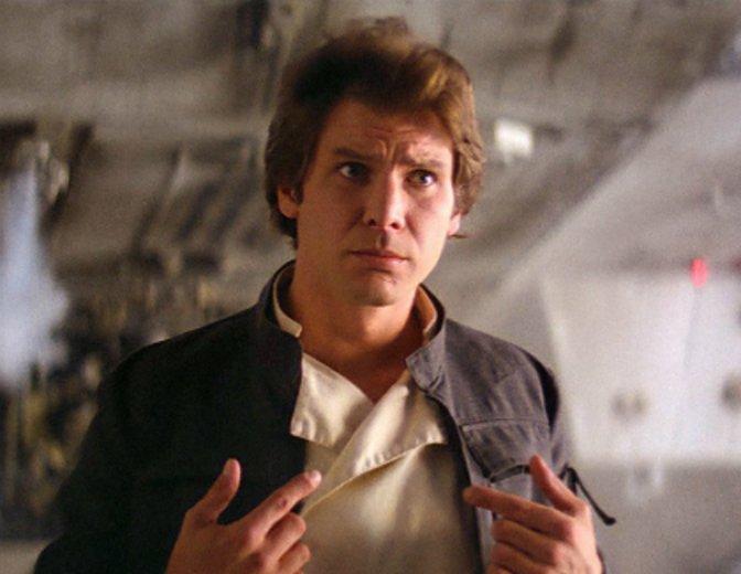 Han Solo Imperium schlägt zurück Star Wars Harrison Ford