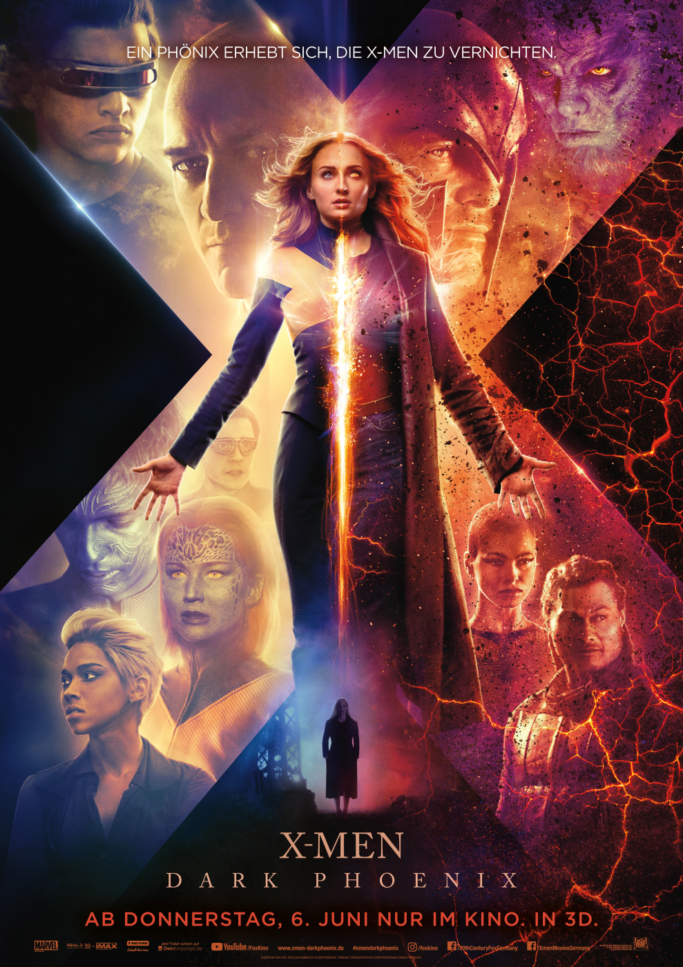 X Men Dark Phoenix Film 2019 Trailer Kritik Kinode