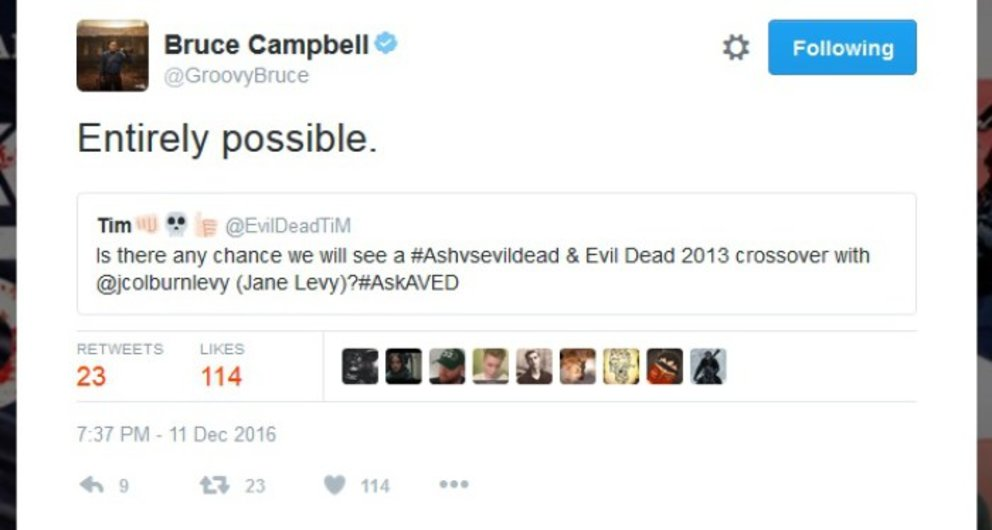 © Bruce Campbell via Twitter