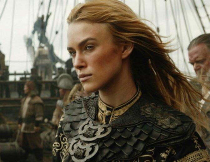 Keira Knightley kehrt zu den Piraten zurück. © Disney