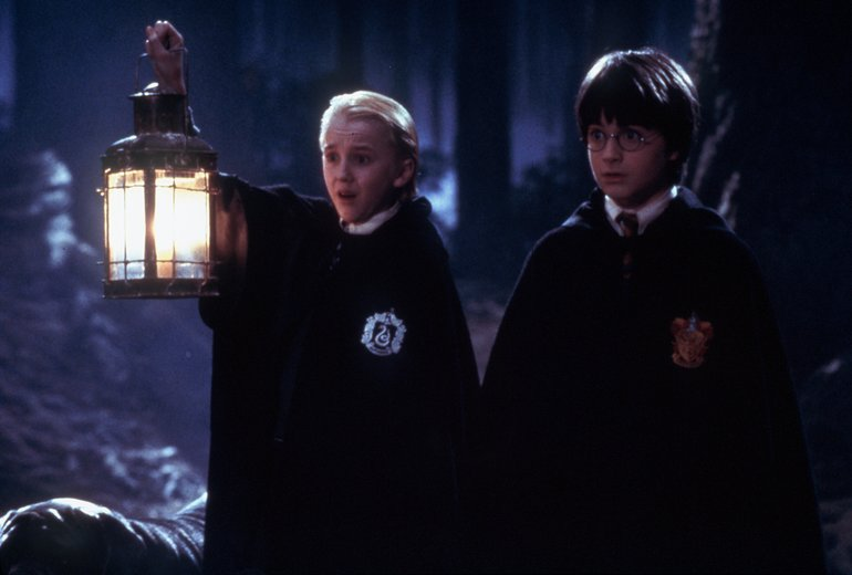 Harry Potter Draco Verbotener Wald Der Stein der Weisen