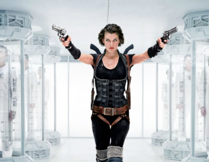 Alice Resident Evil Film Movie Milla Jovovich