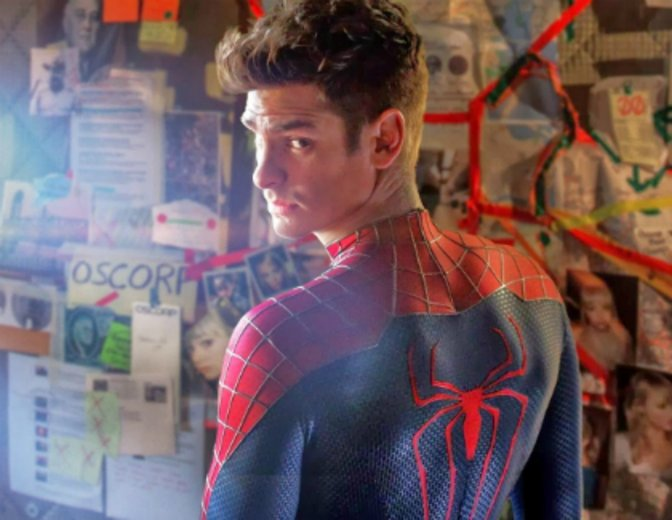 Andrew Garfield Spider-Man The Amazin 2 Rise of Electro