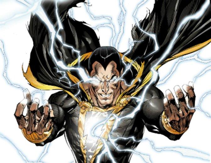 Black Adam Comic DC Dwayne Johnson