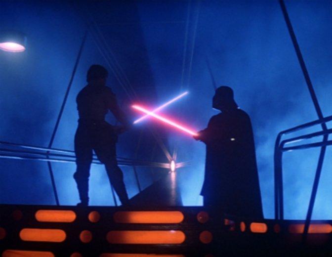 Das Imperium schlägt zurück Luky gegen Darth Vader