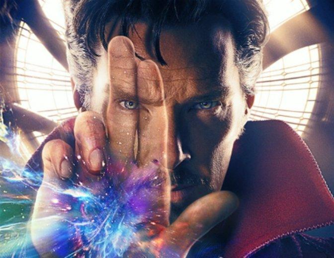 Doctor Strange Benedict Cumerbabtch Poster Kinocharts