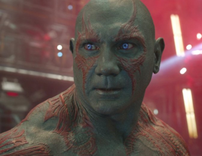 Drax Dave Bautista Guardians of the Galaxy Marvel
