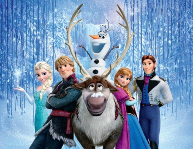 Frozen Die Eiskönigin völlig unverfroren Poster