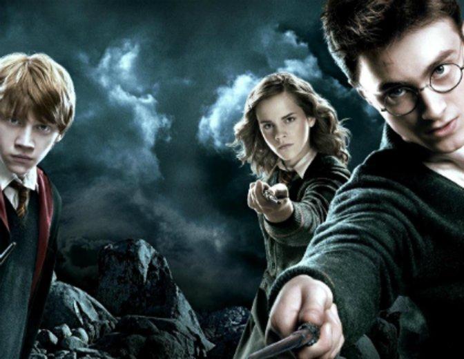 Harry Potter Daniel Radcliffe Hermine Granger Emma Watson Rupert Grint Ron