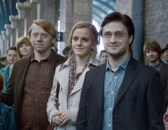 Harry Potter Epilog Ron Hermine 19 Jahre später