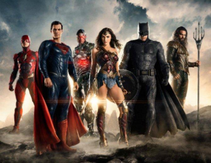 Justice League Trailer Comic Con