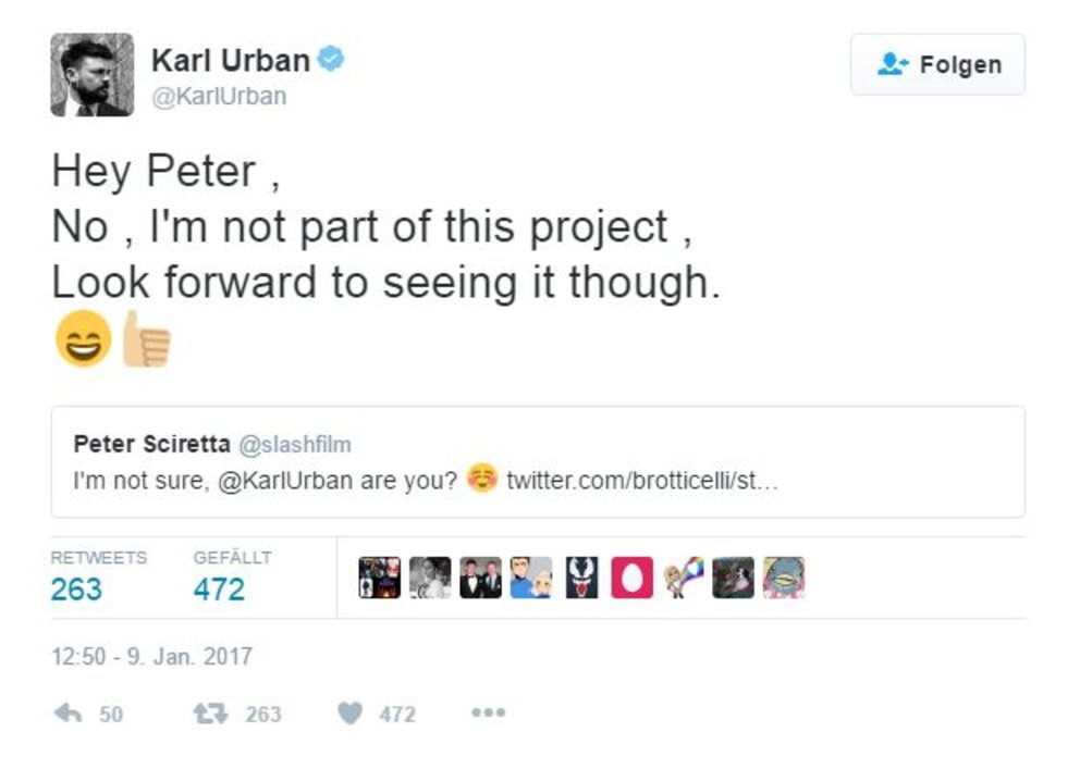 Karl Urban Twitter Pacific Rim 2