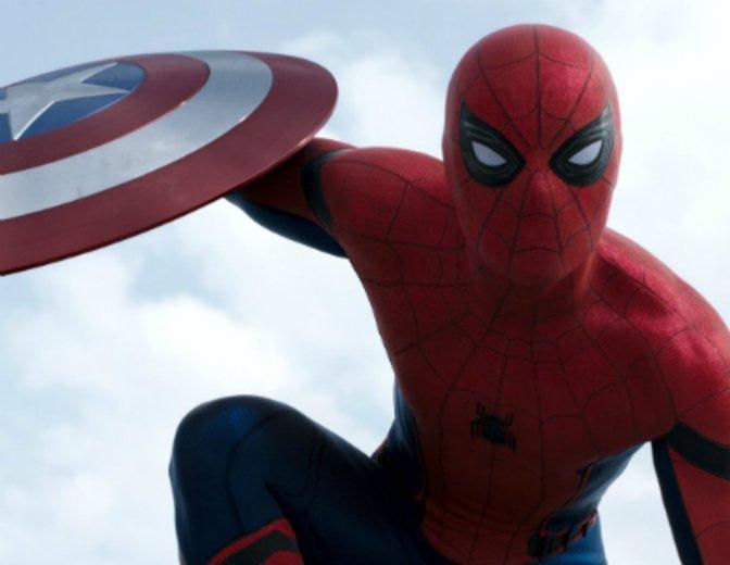 Spider-Man Tom Holland Captain America The First Avenger Civil War