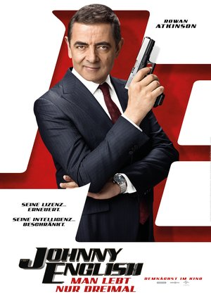 Johnny English 3 - Man lebt nur dreimal Poster