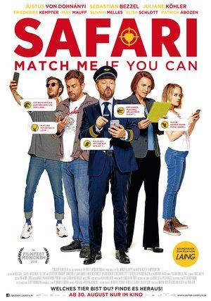 Safari - Match Me If You Can Poster