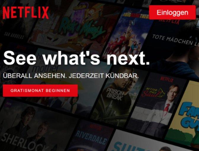 Netflix Pin ändern
