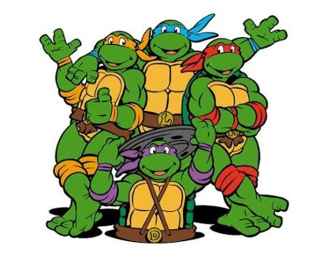 ninja turtles namen