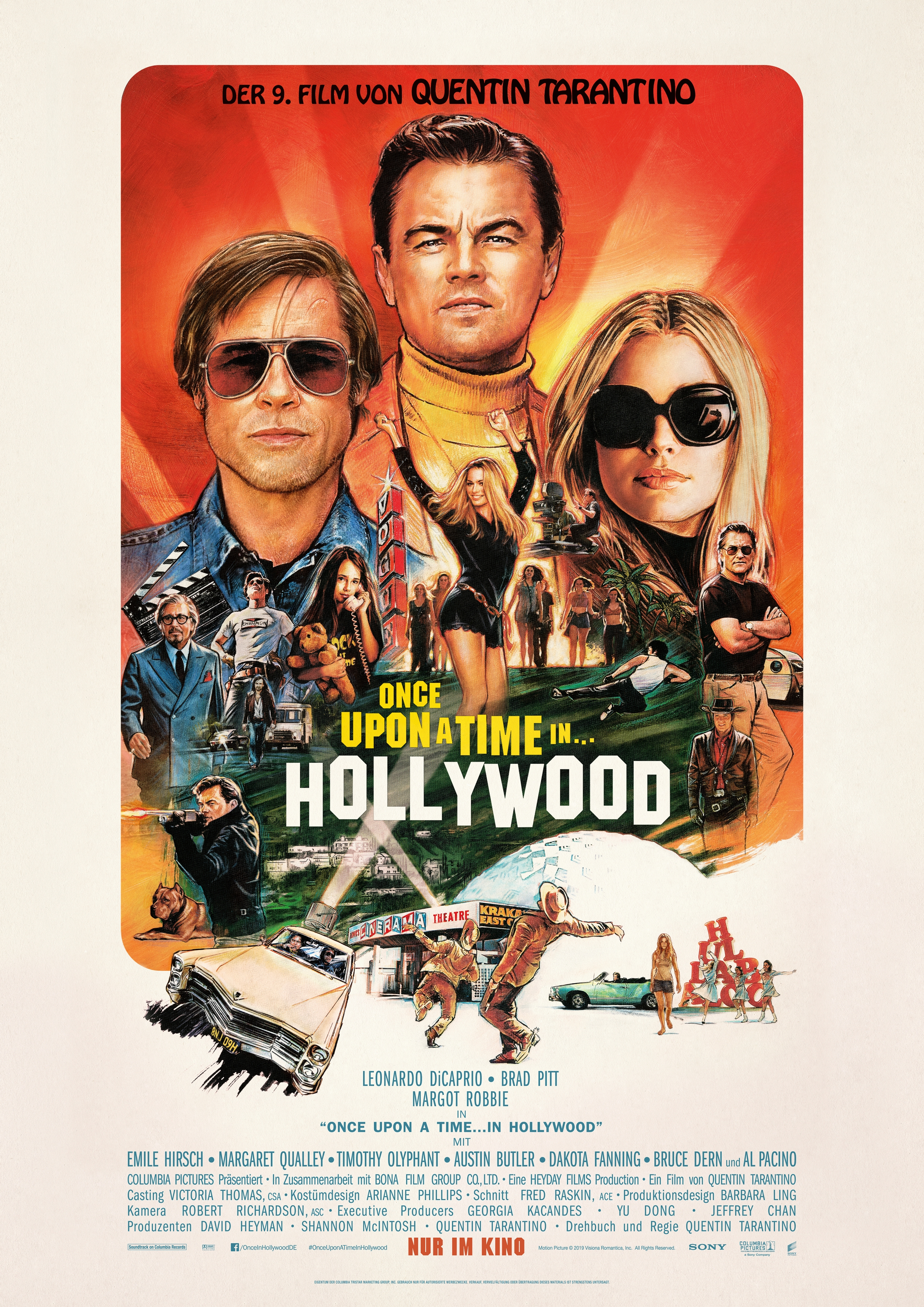 Filme Zu Weihnachten 2019.Once Upon A Time In Hollywood Film 2019 Trailer