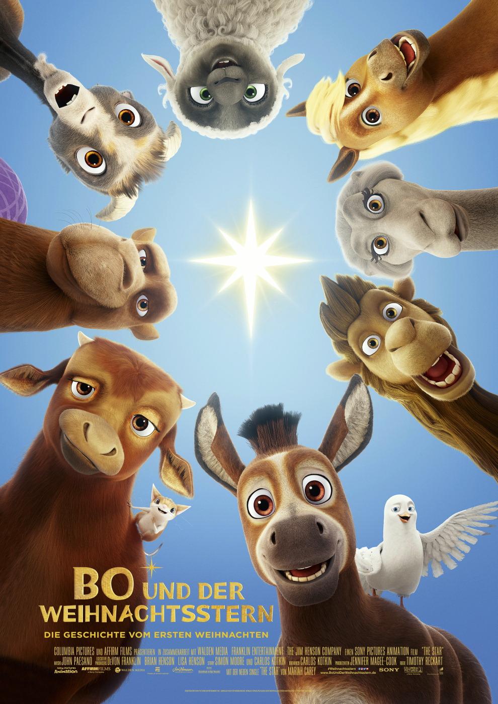 Lisas Erster Weihnachtsbaum.Bo Und Der Weihnachtsstern Film 2017 Trailer Kritik Kino De