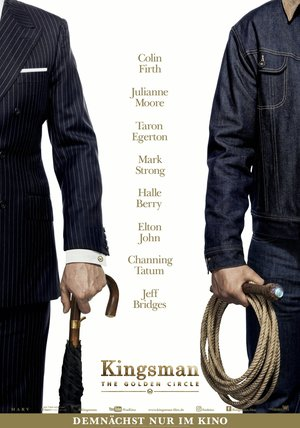 Kingsman: The Golden Circle Poster