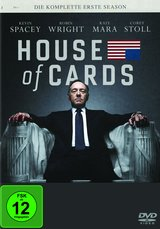 House of Cards - Die komplette erste Season (4 Discs) Poster