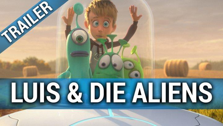 Luis und die Aliens - Trailer Poster