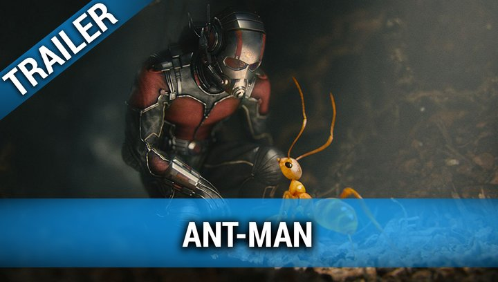 Ant-Man (VoD-BluRay-DVD-Trailer) Poster