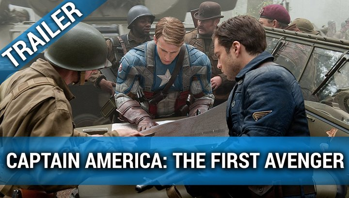 Captain America: The First Avenger - Trailer Poster