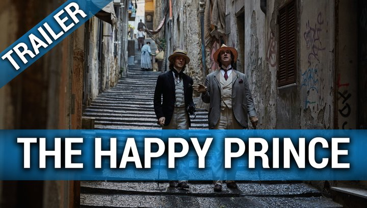 The Happy Prince - Trailer Poster