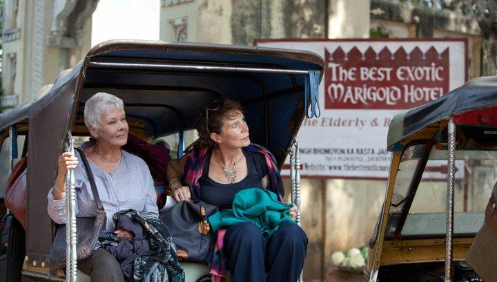 Best Exotic Marigold Hotel - Trailer Poster
