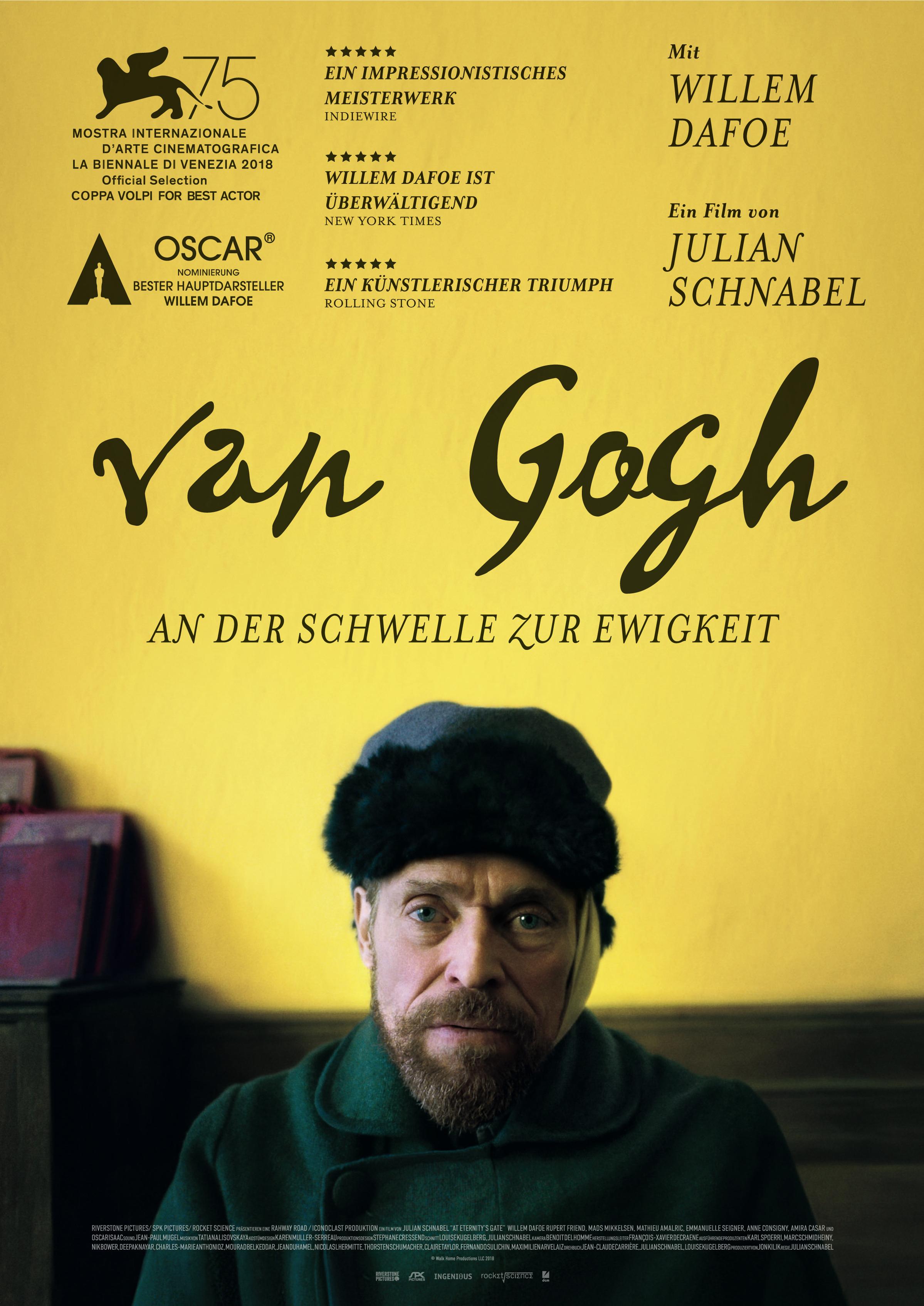 Van Gogh An Der Schwelle Zur Ewigkeit Film 2018 Trailer