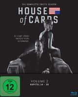 House of Cards - Die komplette zweite Season (4 Discs) Poster