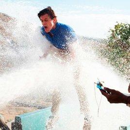 """Totalschaden: Johnny Knoxville hat sich bei neuem Film """"Action Point"""" schwer verletzt"""