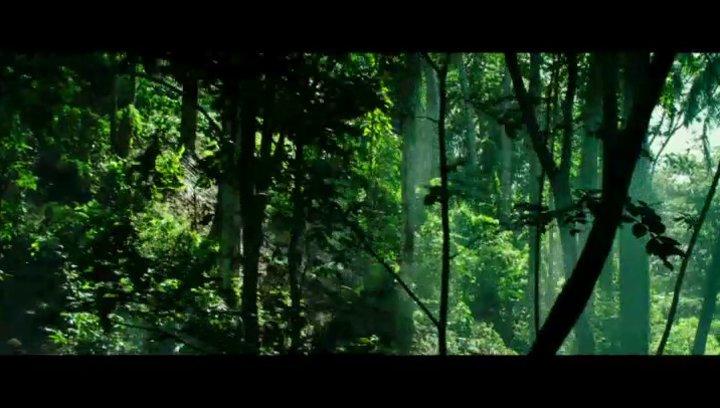Dschungel Action - Szene Poster