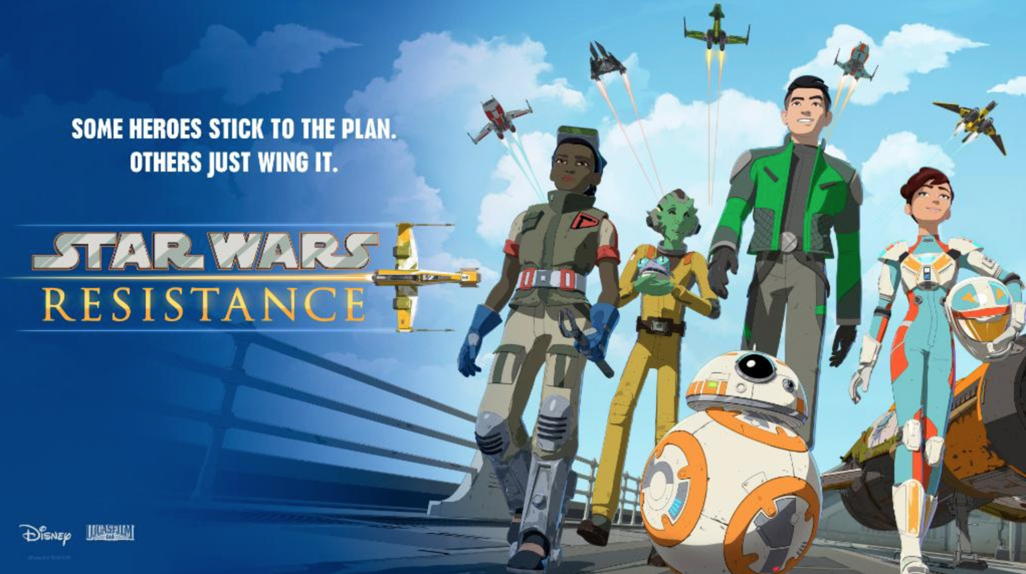Star Wars Resistance 1x09 Espa&ntildeol Disponible