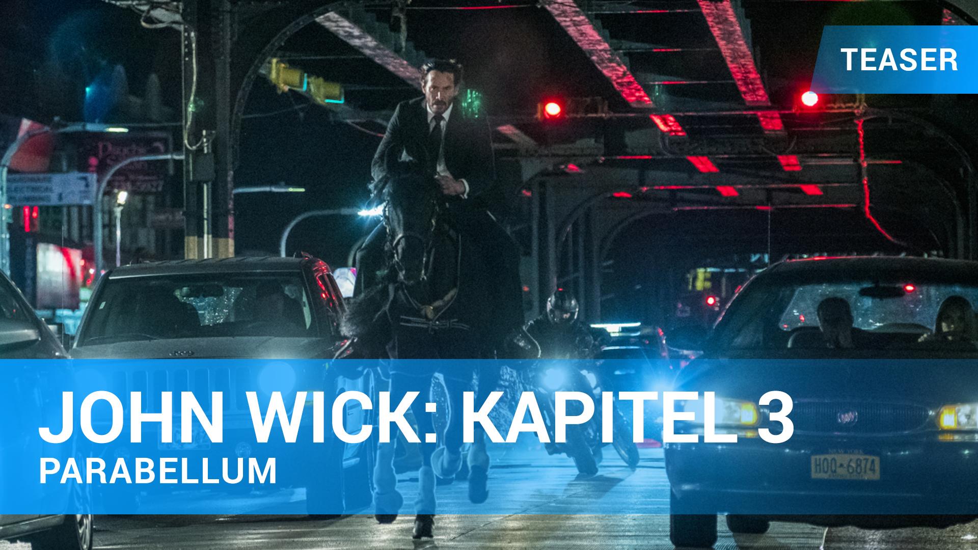 John Wick: Kapitel 3 Teaser Trailer Deutsch