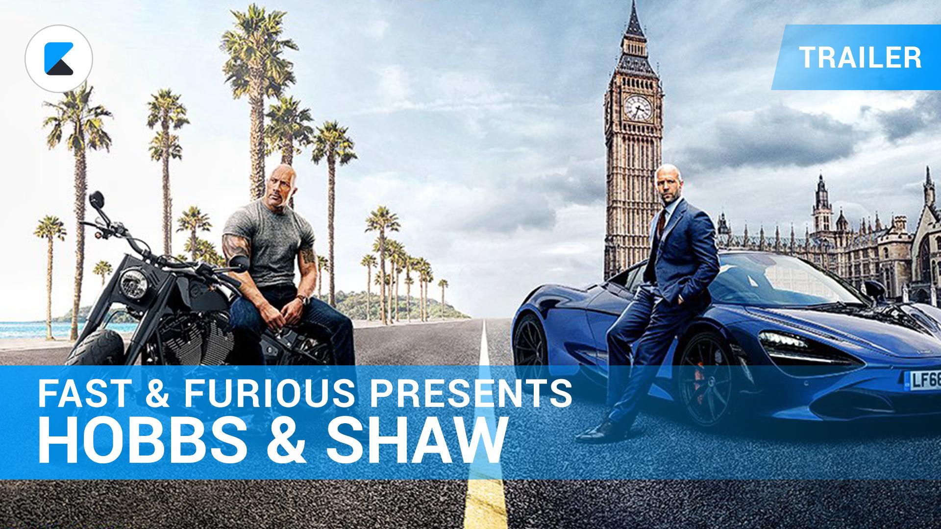 Fast & Furious: Hobbs & Shaw - Trailer Deutsch
