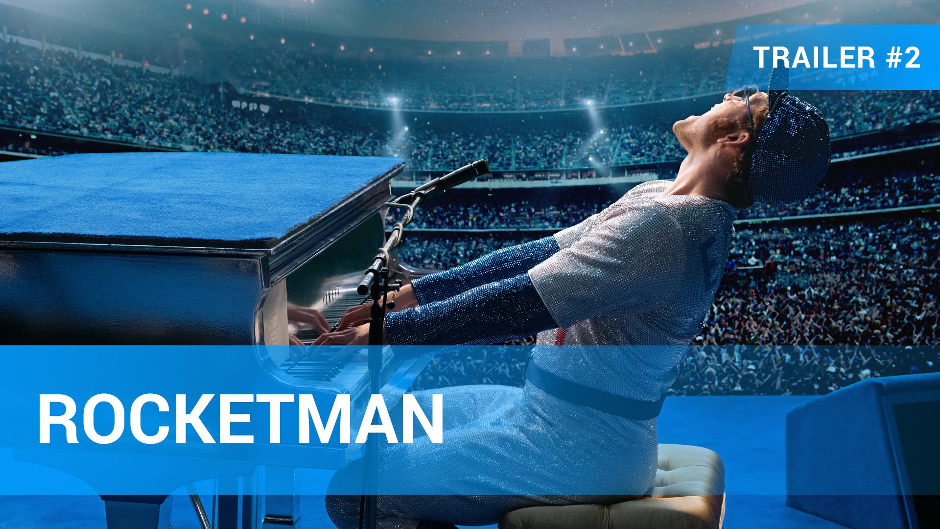 Rocketman Trailer 2 Deutsch