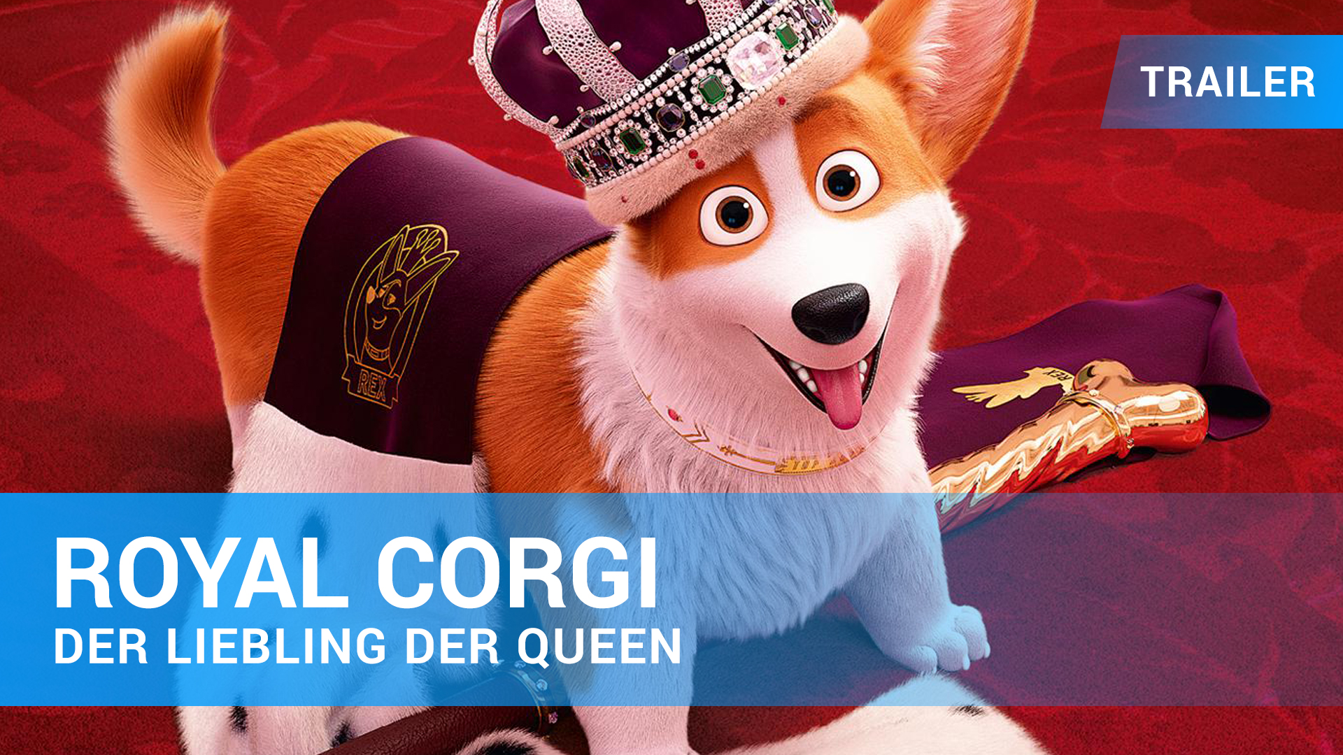 Royal Corgi - Der Liebling der Queen - Trailer Deutsch
