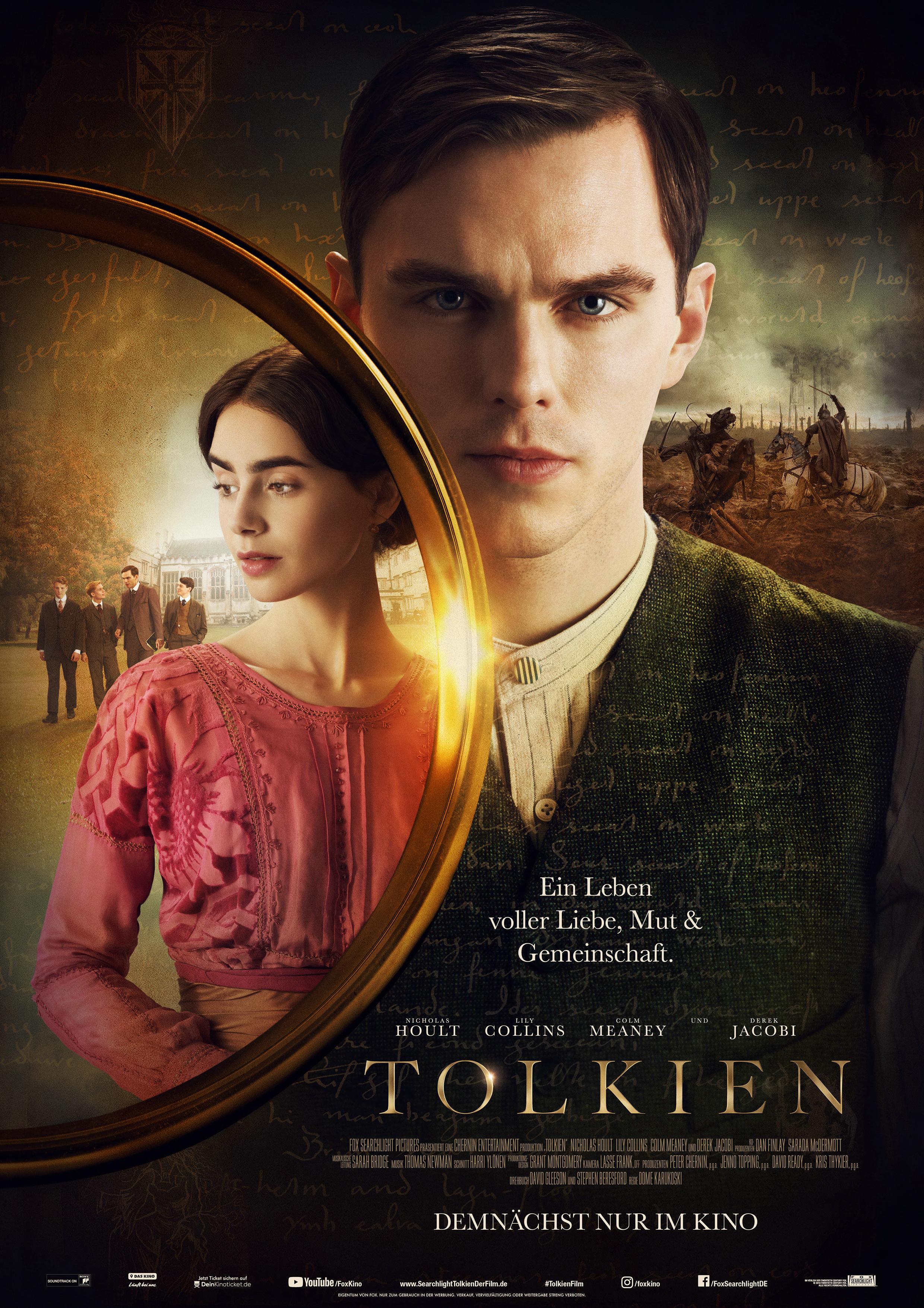 Frohe Weihnachten Miss Kingsley.Tolkien Film 2019 Trailer Kritik Kino De