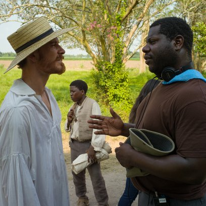 12 Years a Slave / Set / Michael Fassbender / Steve McQueen Poster