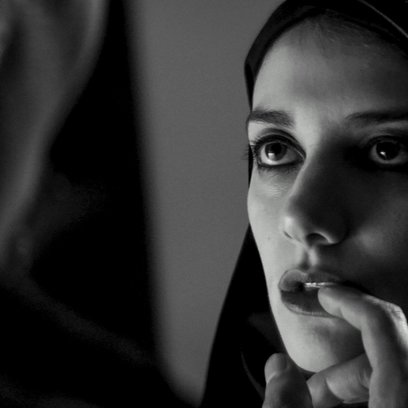 Girl Walks Home Alone at Night, A Poster